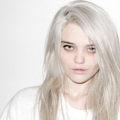Innocent Pictures of Sky Ferreira by Terry Richardson Sky Ferreira, Terry Richardson, Bleached Hair, Street Style, Alternative Girls, White Topaz, Cut And Style, Pretty People, Beautiful People