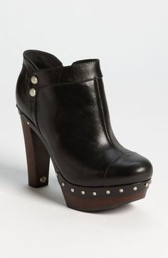 Free shipping and returns on UGG® Australia 'Ambrogia' Boot (Women) at Nordstrom.com. Brushed studs echo the covered-button cool of a vintage-vibe boot boosted by a wooden heel and platform.