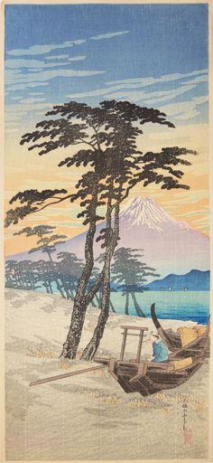 Shotei (1871-1945) - Mt. Fuji from Miho, 1930