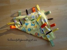 How to Make a Crinkle Tag Blanket