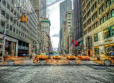 New York, Yellow Cab by Roman K on 500px