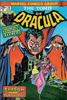 Tomb of Dracula #23.  Cover by Gil Kane and Tom Palmer.