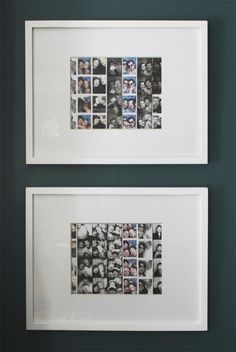 Great way to display your photo strips