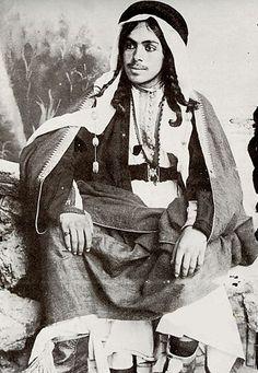A Kurdish Gentleman from the Jabal Sinjar circa 1935