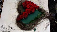 Making of: wenn ein Rosenherz entsteht
