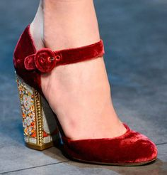 Mary Jane shoes are back and big time this season. They are no longer for dear little old ladies and adorable children.