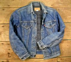 Vintage Levi Jacket /Blanket Lining S/36 by Rustology on Etsy, 89.00