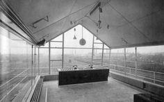 "furtho:  "" Sybold van Ravesteyn's signal box, Maastricht, 1930s (via here)  """