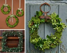 boxwood event wreaths