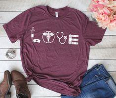 Nurse Shirts, Registered Nurse, Nurse Grad Gift, Nursing Student, Nursing Student Gift, Stethoscope, Nurse Practitioner, LPN, RN by TheGraytestAdventure on Etsy https://www.etsy.com/listing/577274642/nurse-shirts-registered-nurse-nurse-grad