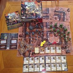 Game of the Week--Rivet Wars: Eastern Front. A fast paced tactical miniatures board game. Choose to play as the brutal Blightun Empire or as the noble Allied Forces! #coolminiornot #tabletop #games #gaming #miniaturegaming #rivetwars