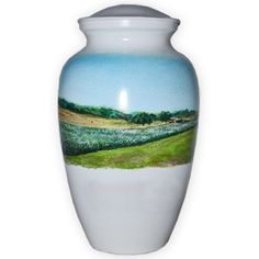 Landscape scenes can be a beautiful memorial for your loved one.