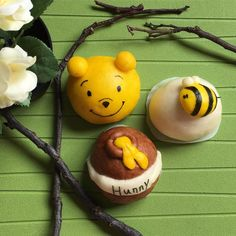 Winnie the Pooh steamed buns by Angela L. (@professorpototobaking)