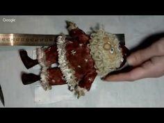 День 8. Елена Диденко Санта Клаус. | Грунтованный текстиль | Постила