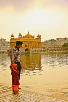 A visit to India, the Golden Temple Amritsar.