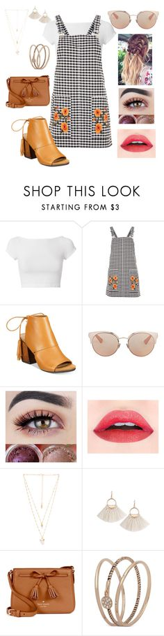 """Untitled #32"" by anasls ❤ liked on Polyvore featuring Helmut Lang, Topshop, Kenneth Cole Reaction, Christian Dior, Natalie B, Kate Spade and Anne Klein"