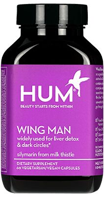 HUM vitamins Referral code 125B21 for $10 off.  Wing Man  widely used for liver detox & related dark circles
