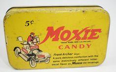 Moxie Soda Candy Tin