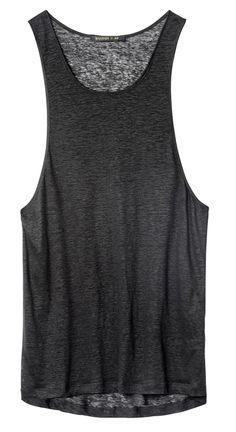 Men's Balmain x H&M tank top, $29.99 Photo: H&M.