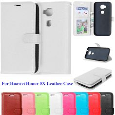 5X Case for Huawei Honor Leather Case Huawei Honor 5X Phone Back Cover Case With Card Holder Coque For Huawei Honor5x play