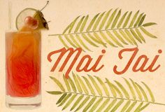 For my money, the best cocktail on the planet.  So good my first dog's name was San Jo Yuki Mai Tai.*  There are nearly as many versions as there are bartenders, but the number one rule I live by, when making and drinking this cocktail is that it BETTER NOT HAVE ORANGE JUICE IN IT.