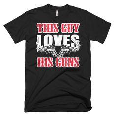 2nd Amendment Gun Lover Dad T-shirt. Grab yours today. #2ndamendment #guns