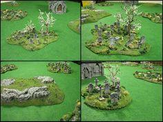 TerranScapes ~ Graveyard Table Set