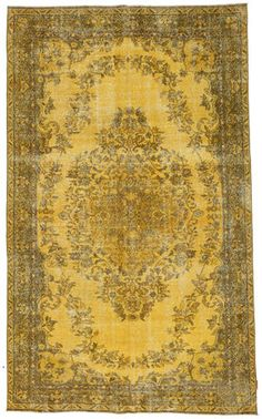 Colored Vintage tæppe 171x290