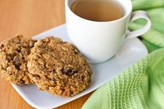 Mega carrot cake breakfast cookies, naturally vegan, gluten and sugar-free. From Oh She Glows.