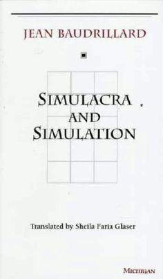 Baudrillard's theory : http://www.cla.purdue.edu/english/theory/postmodernism/modules/baudrillardsimulation.html