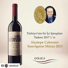 2017年のトルコ国内金賞(1本だけ)を受賞したワイン  Doluca Alçıtepe Cabernet Sauvignon Shiraz 2013