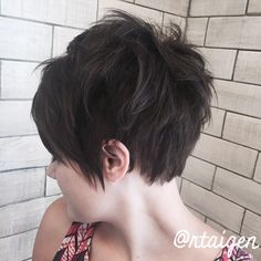 ❤️#hairdomesa #nothingbutpixies #pixiecut #modernsalon #behindthechair #hashtagpixiecuts #bbtexture #lovemyjob