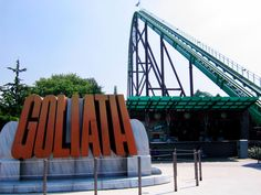 Goliath - Walibi Holland, Biddinghuizen, Netherlands : World's Coolest Roller Coasters : TravelChannel.com