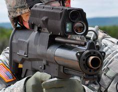 H & K HK XM25 IAWS (Individual Airburst Weapon System).