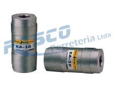 Válvulas de apoyo para el sistema de control neumático.
