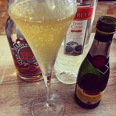 #cocktail création du #dimanche avec @rhum_hse et @iloveclairette... Un peu de fraîcheur avec @FloydWithAGlass !