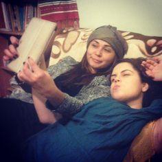 Ema & Cristina Selfie  Photoshoot