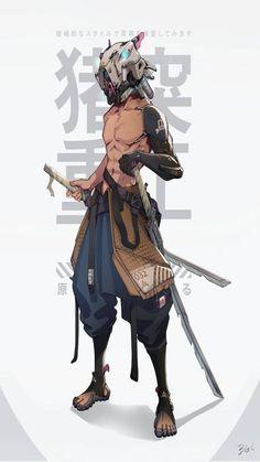 Game Character Design, Fantasy Character Design, Character Drawing, Character Design Inspiration, Character Illustration, Character Concept, 3d Character, Animation Character, Cyberpunk Anime