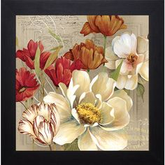 Jardin I' by Carol Robinson Framed Art Print                                                                                                                                                                                 Mais