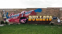 Spray Paint, Not Bullets  Chicago, IL