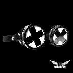 Cyber Goggles 'Black Cross'