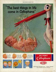 another old cellophane ad