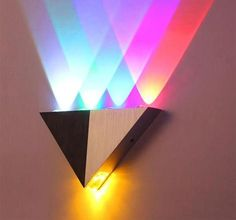 Modern Led Wall Lamp Aluminum Body Triangle Wall Light For Bedroom Home Lighting Luminaire Bathroom Light Fixture Wall Sconce Led Wall Lamp, Led Ceiling Lights, Wall Sconce Lighting, Wall Sconces, Hanging Lamps, Ceiling Fans, Luxury Lighting, Home Lighting, Lighting Ideas