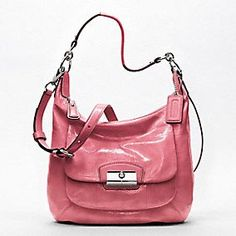 KRISTIN PATENT LEATHER HOBO