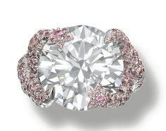 IMPRESSIVE FANCY GREY DIAMOND RING, BY CHANEL