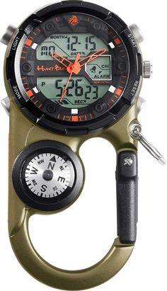 Survival camping tips Camping Survival, Survival Tools, Survival Watch, Survival Prepping, Cool Watches, Watches For Men, Gadget Watches, Bucks Logo, Materiel Camping