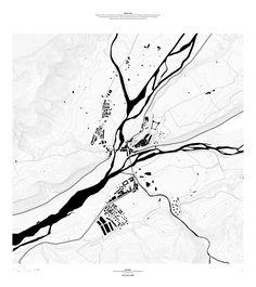Water Architecture, Architecture Mapping, Architecture Graphics, Architecture Diagrams, Architecture Portfolio, Urban Design Concept, Urban Design Diagram, Map Diagram, Mapping Diagram