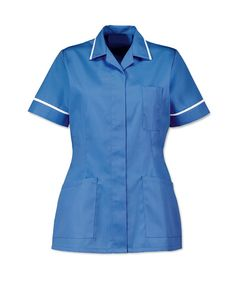 Related image Open Ended Zips, Trim Color, Professional Look, Scrubs, Size 16, Women Wear, Men Casual, Tunic, Shirt Dress