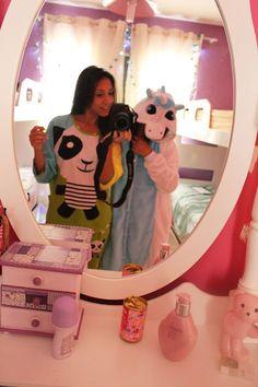 vivy's moda: Pijamas fofinhos_ Eu amo e você?