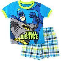 Batman Toddler T-Shirt Top Shorts Set
